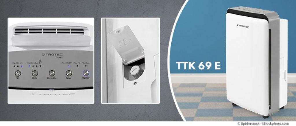 dezumidificator trotec ttk69e caracterisitici